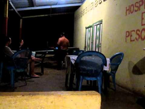 dinner music – keyboard power ballad – Isla de Ometepe, Nicaragua