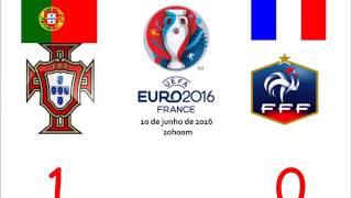 Portugal 1 0 França   Relato do golo de Éder CAMPEÕES EUROPEUS ALLEZ ALLEZ  D