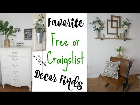 FREE + Craigslist Decor Finds | Favorite Farmhouse Finds | Momma From Scratch
