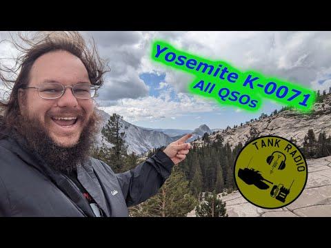 All QSOs for Yosemite National Park