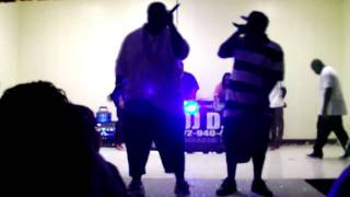 GuttaMouf and J-Biggz - Feelin Myself (Live Performance in Clewiston)