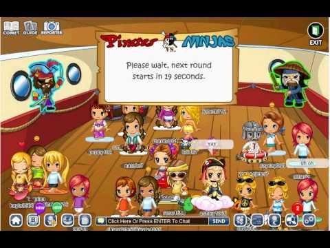 Fantage Pirates vs ninja battle game