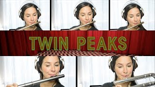 Twin Peaks Theme - Flute Cover