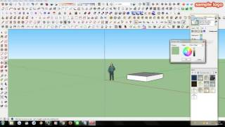 TUTORIAL Cara Mengganti background di SKETCHUP #01
