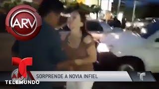 Hombre sorprende a su mujer infiel | Al Rojo Vivo | Telemundo
