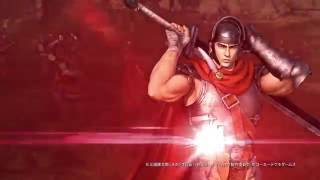 Berserk: Musou (2016) - Guts Action Gameplay Trailer (PC/PS3/PS4/PSVita)