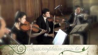 Quarteto de Cordas  Êmphase Produções