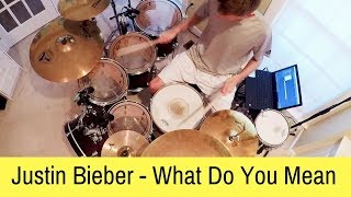 Justin Bieber - What Do You Mean Live (Ending) (Drum Cover)