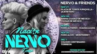 NACIÓN NERVO MEXICO TOUR 2013