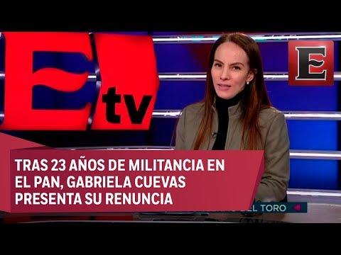 CUEVAS HABLA SOBRE SU RENUNCIA TRAS 23 AÑOS DE MILITANCIA EN EL PAN