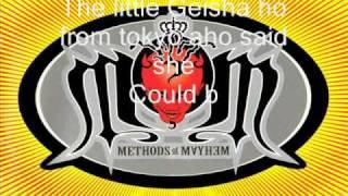 Methods of Mayhem - Get Naked with lyrics