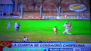 Gol de Marcos Berthet a CAVE - 4ta División