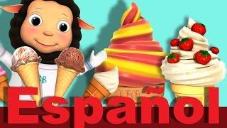 La canción de los helados | Canciones infantiles | LittleBabyBum