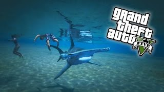 GTA 5 - PLAY AS A SHARK Easter Egg! (GTA V Next Gen)