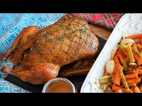 Новогоднее меню 2021 | СОЧНАЯ УТКА С АПЕЛЬСИНАМИ для праздничного стола | рецепт утки в духовке