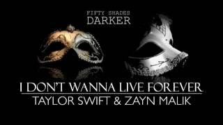 TAYLOR SWIFT & ZAYN MALIK - I DON'T WANNA LIVE FOREVER (PIANO COVER)