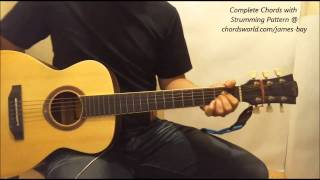 James Bay Incomplete Chords