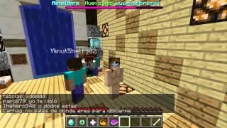 Minecraft | Skin Mujer desnuda |  Trolleando en un server | Rey