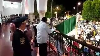 Pirotecnia se sale de control en Yucatán! - grito de independencia