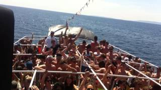 UGS Live @ Hideout 2013 | Aus/Simple Boat Party - George Fitzgerald