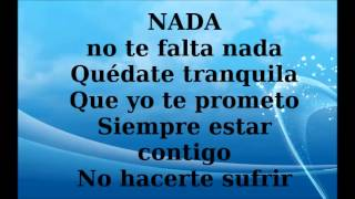 Prince Royce - Nada (Letra - Lyrics)