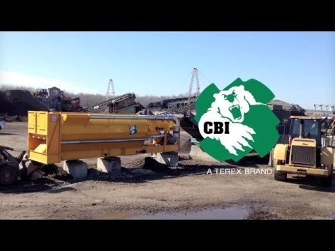 CBI AirMax Material Separator (Sorting Rocks, Wood & Plastic)