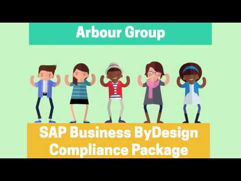 SAP Business ByDesign Packaged Compliance Solution