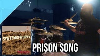 "System of a Down - ""Prison Song"" drum cover by Allan Heppner"