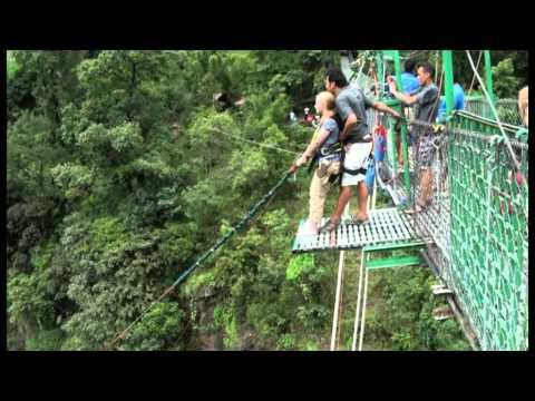 Canyon Swing, Last Resort, Nepal