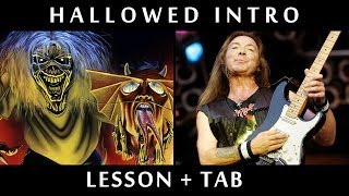 Hallowed be thy Name - Dave's Intro Riff / Tutorial & Tab