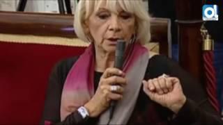 Cádiz: Teófila Martínez y Kichi, a la gresca en el Pleno por una pancarta