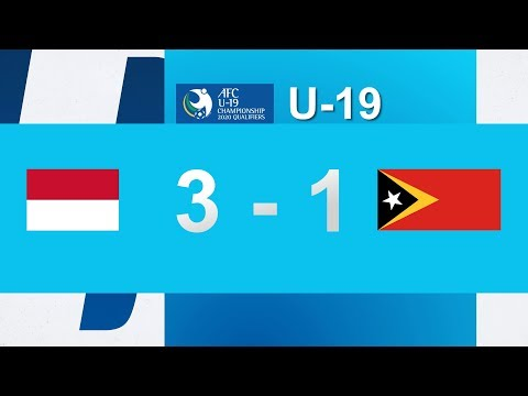 Download Video INDONESIA 3 VS 1 TIMOR LESTE - AFC CHAMPIONSHIP 2020 Qualifiers