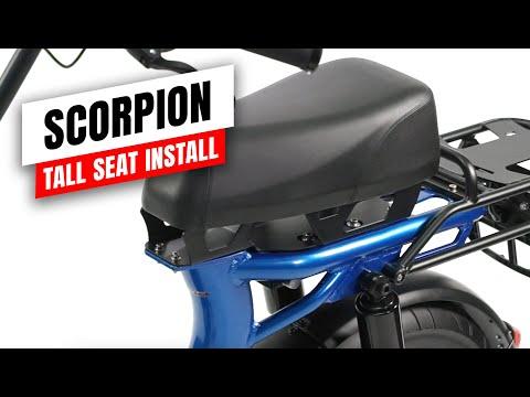 Scorpion and HyperScorpion Tall Seat Installation