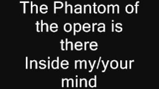 The Phantom of the opera (Lyrics)