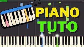 Piano Comptine D'un Autre été - Yann Tiersen - Tutorial