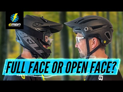 What Type Of MTB Helmet Is Best For You? | Full Face Or Open Face Helmets