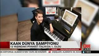 CNNTURK- Kaan Türkiye'nin gururu oldu- 4 EYLUL 2017