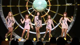 Wonder Girls - Be My Baby 원더걸스 - 비 마이 베이비 Music Core 20111119