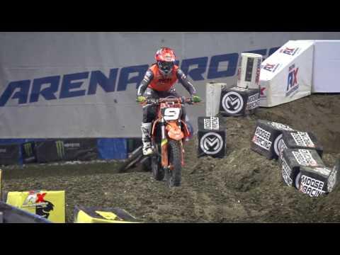 AMSOIL Arenacross Daniel Herrlein Post Race Interview