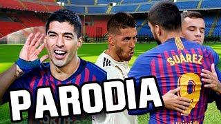 Canción Barcelona vs Real Madrid 5-1 (Parodia Taki Taki - Ozuna, DJ Snake, Selena Gomez, Cardi B)