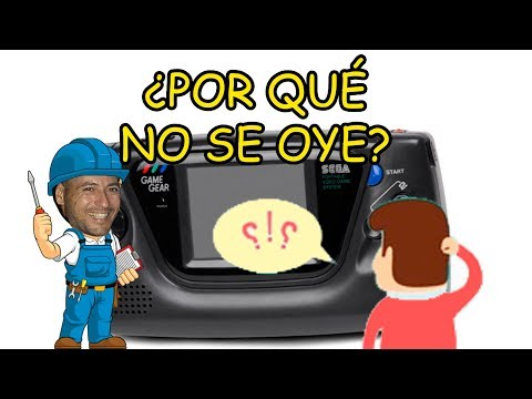 ¿POR QUÉ NO SE OYE MI GAME GEAR?