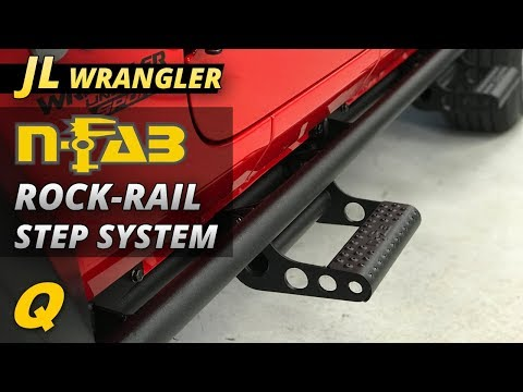 N-FAB Rock-Rail Step System Review for Jeep Wrangler JL + BONUS FOOTAGE