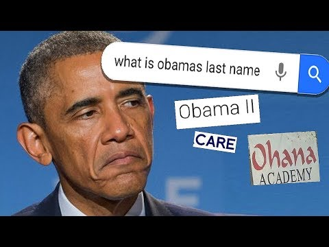 Why the internet is freaking OUT over Obama's last name