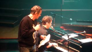 """Alex Beaupain & Julien Clerc """"Coule"""" @ """"Partons en Live"""" (Paris)"""