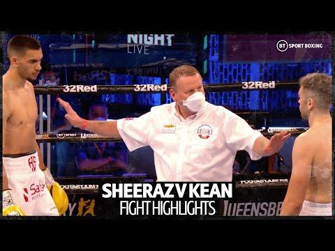 Hamzah Sheeraz v Paul Kean fight highlights | Boxing is back! 7