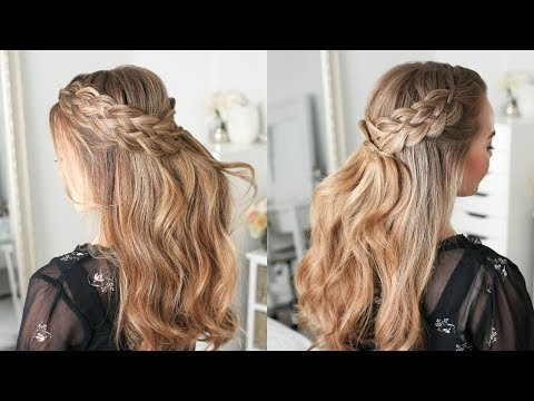 Half Up 5 Strand Braids | Missy Sue