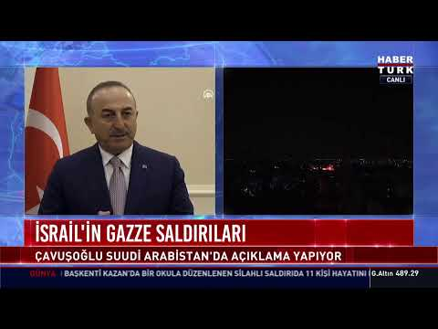 Dışişleri Bakanı Çavuşoğlu açıklama yapıyor… #YAYINDA