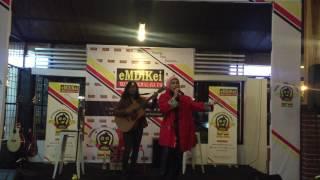 Indah Nevertari Rockabye live at Emdikei Radio