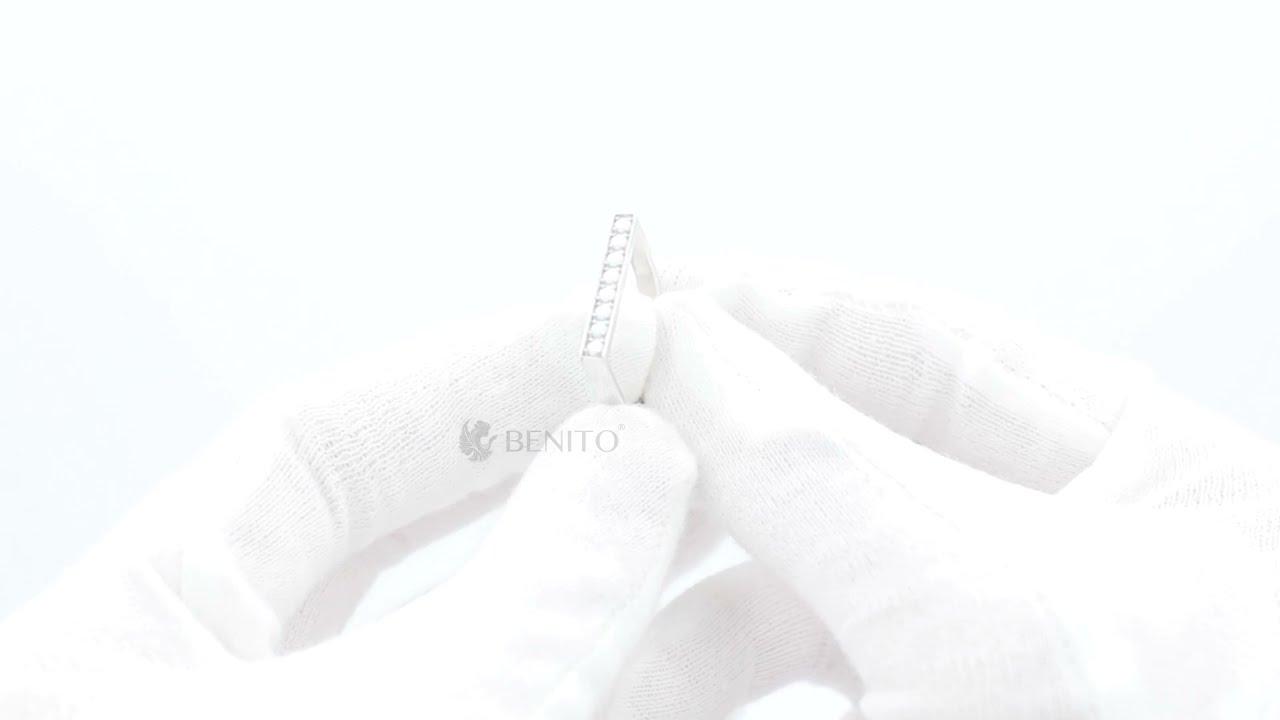 Ida Ring White Nanocrystal Stones