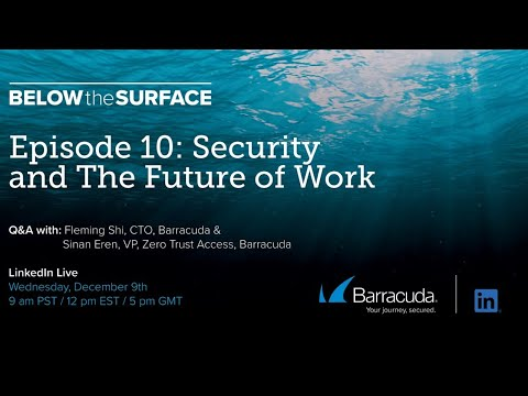 Below the Surface - Episode 10 - Security and The Future of Work